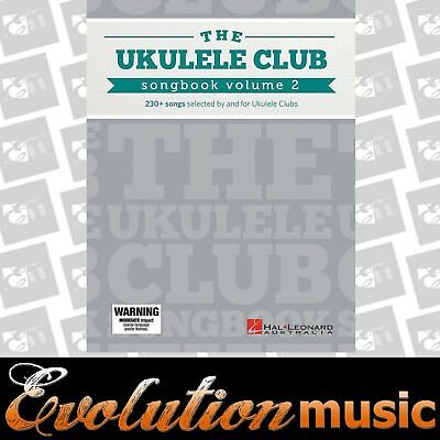 AU39.95 • Buy The Ukulele Club Songbook BOOK 2 Song Book