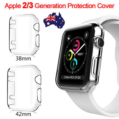 AU2.99 • Buy For Apple Watch Series Clear Screen Protector 38mm/40mm Ultra Full Case Cover