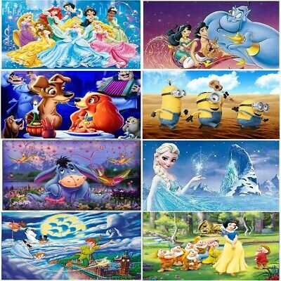 $ CDN10.47 • Buy 5D Diamond Painting Disney Cartoon Characters Picture Full Drill Craft New Sale