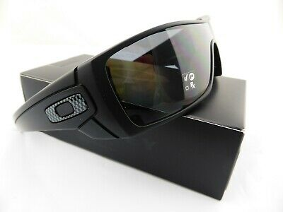 AU189 • Buy Oakley BATWOLF Sunglasses Matte Black - POLARISED Grey Lens + BONUS OAKLEY ICONS