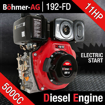 Portable Diesel Engine 11 Hp Single Cylinder Motor ~ Yanmar, Loncin - Bohmer-ag • 599.99£