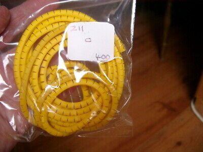 £1 • Buy Z Type Slide On Cable Markers Size 11 Letters Black On Yellow - Garage Clearout
