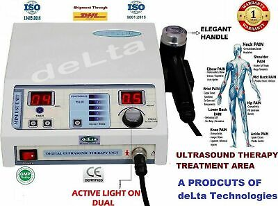 £136 • Buy New Ultrasound Therapy 1Mhz Delta Technologies Physiotherapy Machine Pain Relief