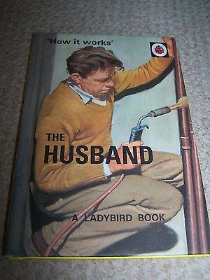 Ladybird Book For Adults-The Husband-How It Works.!! • 4.95£