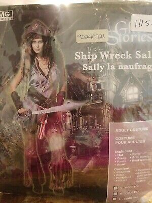 $24.99 • Buy Shipwreck Sally Halloween Sexy Adult Costume Size Small #320