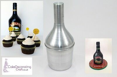 3D Novelty Cake Baking Tins And Pans | 3D Baileys Bottle Cake Shape  • 11.39£