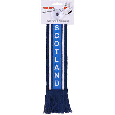 Truck Car Mini Scarf Scotland Pennant Suction Cup Pendant Flag • 8.96£