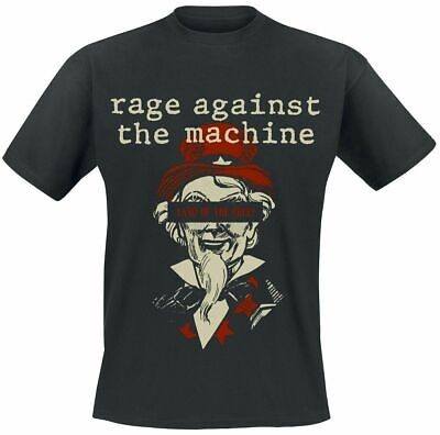 Official Rage Against The Machine T Shirt Sam Free Black Classic Rock Metal Band • 16.99£