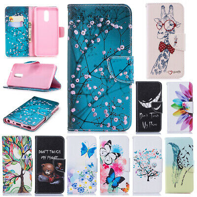 AU7.57 • Buy For LG Stylo 5 G7 ThinQ K51 K61 Q60 Case Painted Leather Flip Wallet Stand Cover