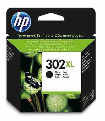 HP 302XL Black Ink Cartridge (F6U68AE) • 26.99£