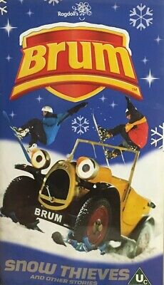 £9.99 • Buy Brum Snow Thieves And Other Stories VHS Video Tape Vintage Childrens TBLO