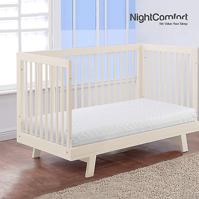 £26.99 • Buy NightComfort 100% Eco Polyester Baby Toddler Cot Bed Mattress Removable Cover