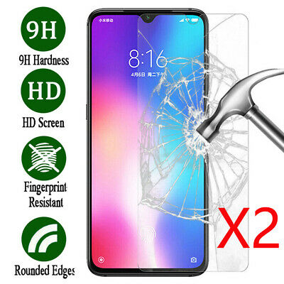 $1.28 • Buy 1/2X 9H Tempered Glass Screen Protector For XiaoMi Redmi 5 / 6 7 Note 6A 5A Pro