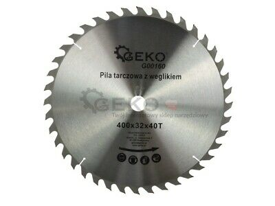 TCT Circular Saw Blade For Wood 400x32x40T Z19 • 23.99£
