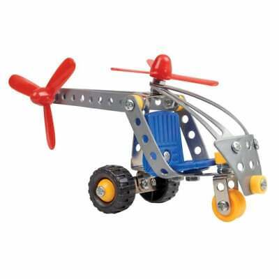 Tobar Junior Engineer Workshop Small Microcopter Metal Model Helicopter Kit • 6.40£