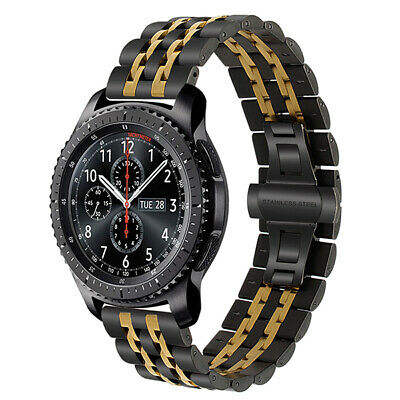 AU23.20 • Buy Stainless Steel Watch Band For Samsung Gear S3 Classic Frontier Wrist Bracelet