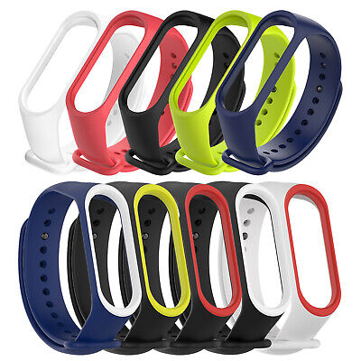 Replacement Silicone Watch Band Strap Wristband Bracelet For Xiaomi Mi Band 4 3 • 0.99$