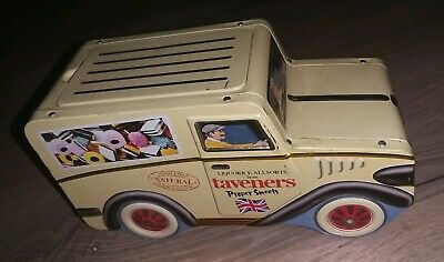 Taverners Wine Gums Van Tin  (Empty) With Fitting Lid. • 8.99£