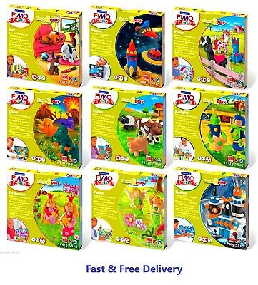 £7.85 • Buy FIMO Kids Form & Play N Funny Kits Clay Modelling Sets - Imagine, Create & Learn