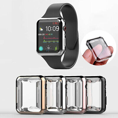 $ CDN2.80 • Buy Protective Case& Screen Protector Cover  For Apple Watch Series 3 Full 38/42mm K