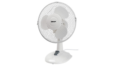 IGENIX Desk Fan MM30134 White • 16.79£