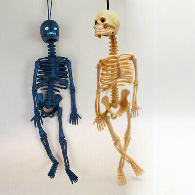 $4.74 • Buy Halloween Festival Realistic Little Human Skeleton Trick Toys For Party Hanging