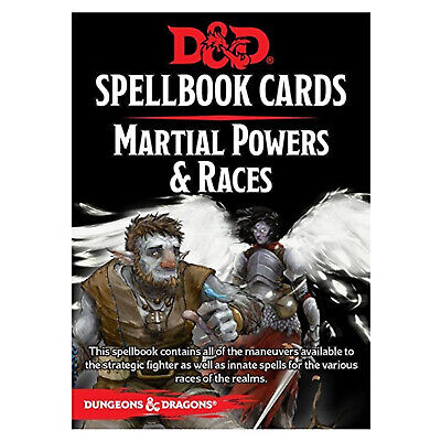 AU16.57 • Buy Dungeons And Dragons Martial Powers And Races Spell Cards Deck NEW IN STOCK
