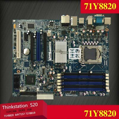 $ CDN169.21 • Buy 71Y8820 For Lenovo ThinkStation S20 LGA1366 Intel X58 Motherboard DDR3 Tested