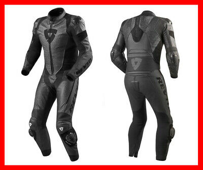 $930 • Buy New Rev It Revit Pulsar 1pc Leather Motorcycle Race/track Suit Black Euro 50 Med
