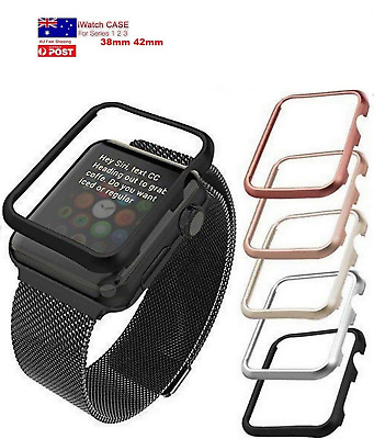 AU8.99 • Buy Premium Quality Cover / Case /Frame / Protector 38,42mm Apple Watch Series 3,2 1