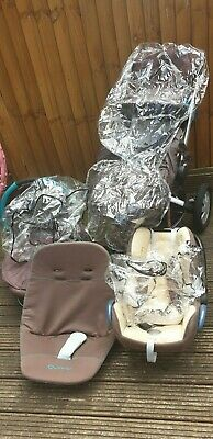 £100 • Buy Quinny Buzz 3 Ushchair Travel System + Carry Cot & Lots Of