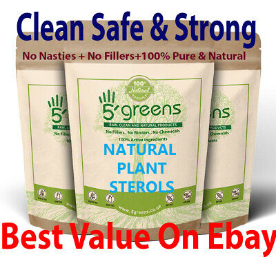 Plant Sterols 600mg 95% Phytosterol , Vegan Capsules Strong & Effective Natural • 8.99£
