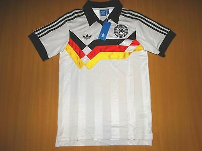 NEW DEUTSCHLAND GERMANY RETRO 1988 90 Shirt Trikot ADIDAS FOOTBALL S • 54.99£