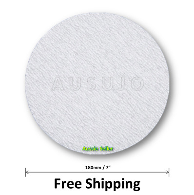 AU20 • Buy 180mm / 7  60 - 320 Grit Sanding Disc Discs Pad Pads Hook Loop Plaster Drywall