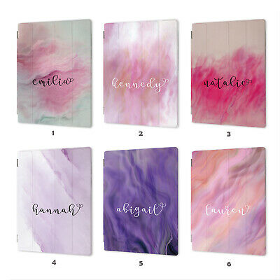 AU19.99 • Buy Personalised Name Marble Smart Case Cover IPad 2 3 4 5 6 Air Mini 1 Pro 9.7 10.5
