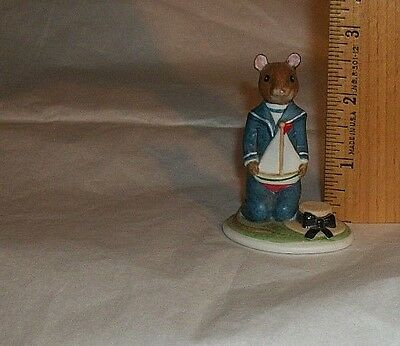 1985 Franklin Mint Woodmouse Family Figurine RUPERT Replacement Addition Piece • 8.96$