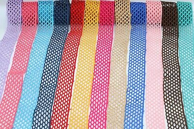 2.5 Cm Beautiful Daisy Lace Trim Colours Guipure Ideal For Embellishing Sewing  • 1.89£
