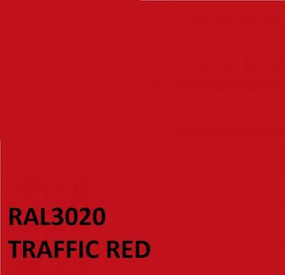 RAL TRAFFIC RED RAL3020 Agricultural Tractor Machinery Enamel Gloss Paint • 21.95£
