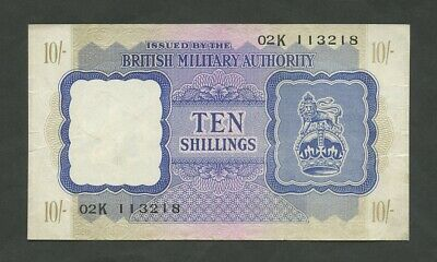 £43 • Buy BRITISH MILITARY AUTHORITY  10 Sh  WWII  Krause M5  Banknotes