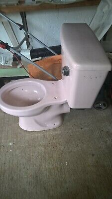 Discontinued & Obsolete Colour Low Level Ceramic Toilet Cistern Whisper Pink • 350£