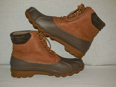 4407213ea Sperry Top-Sider AVENUE DUCK BOOTS MENS SIZE 9.5 M • 42.99$