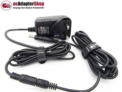 TENVIS MINI319 IP Camera 5M Long DC Power Extension Cable Lead Set + AC Adapter • 20.89£