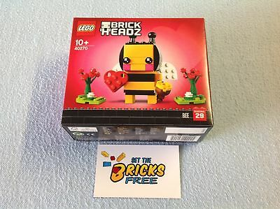 AU28.99 • Buy Lego Valentines Day Brickheadz 40270 Valentine Bee New/Sealed/Retired/H2F