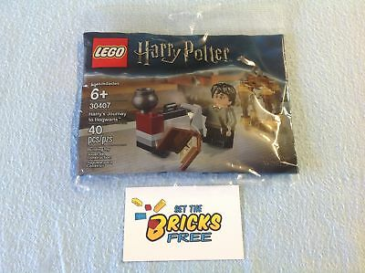 AU12.99 • Buy Lego Harry Potter 30407 Harrys Journey To Hogwarts Polybag New/Sealed/H2F