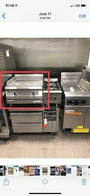 "$1200 • Buy Garland 24"" Gas Flat Top Griddle"