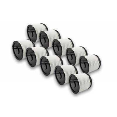 10x Filter Vacuum Cleaner For Parkside 1400 (A1/B1/C1), 1500 (A1/B1/B2) • 59.99£