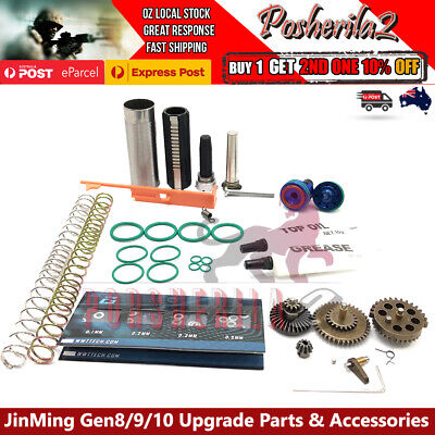 AU22.75 • Buy Upgrade Gearbox Metal Parts Spring Jinming Gen8 J9 M4 J10 ACR Gel Blaster 7-8mm