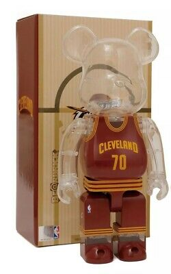 $200 • Buy Medicom 400% Bearbrick X Milk X NBA Cleveland Cavaliers Be@rbrick Lebron James