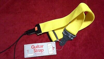 $ CDN18.40 • Buy Vintage ACE Yellow Guitar Strap Model No. 1352 Made In USA