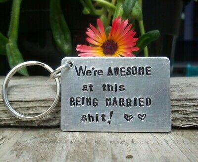 Awesome 6th 10th 11th Wedding Anniversary Gifts For Him Husband Wife Steel Love • 12.99£